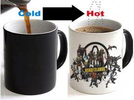 Borderlands Color Changing Ceramic Coffee Mug CUP 11oz