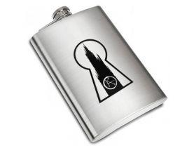 The Dark Tower Ka Keyhole Liquor Stainless Steel Flask - 8 oz