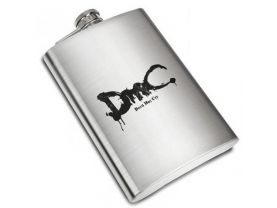 DmC Devil May Cry Liquor Stainless Steel Flask - 8 oz