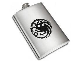 Game of throne House Targaryen Liquor Stainless Steel Flask - 8 oz