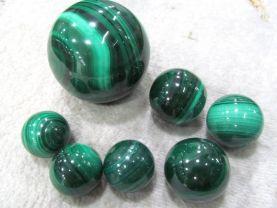 AA grade--Gemstone Malachite  Rock Sphere Green Ball Green Malachite  Gem Stone Ball for Crystal Cabochon Rock 20-100mm