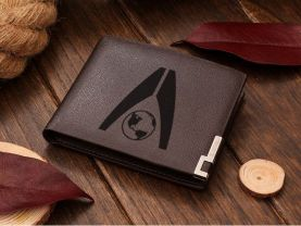 Mass Effect Systems Alliance Leather Wallet