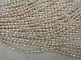 Natural Pearls  Freshwater Cultured Pearl Beads Rondelle Heishi white Purple PINK  Pearl Jewelry  Loose Beads  6-12mm full strand