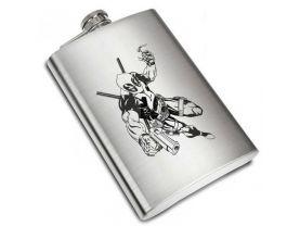 Deadpool Liquor Stainless Steel Flask - 8 oz