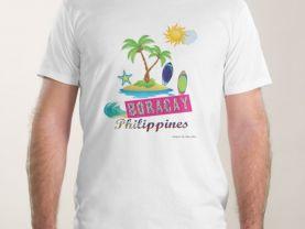 Boracay Men's t-shirt design 2