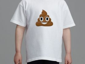 T-shirt POOP  (ages 2 - 16)  for boys and girls   *Best Seller*