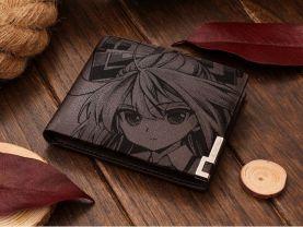 Touhou Project Fujiwara no Mokou Leather Wallet