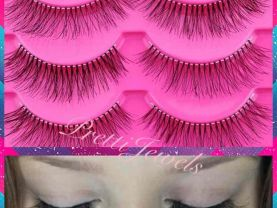 10 Pairs Natural Look False Eyelashes