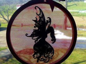 Fairy/Faery Window Charm Sun Catcher