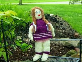 Tina Doll - Crochet Amigurumi Doll/ Toy