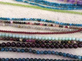 Assorted Gemstone Round Beads,Apatite Garnet,Amazite aquamarine beryl jewelry beads