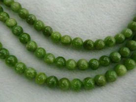 High Quality Natural Chrysoprase Round  Balls Beads- Chrysoprase Beads Olive  gemstone 6-10mm full strand
