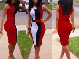 Sexy Red Dress for Women  (S M L)