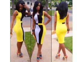 Sexy Yellow Dress for Women  (S M L)