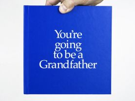 You're Going to be a Grandfather 12 page gift book with special gifts inside