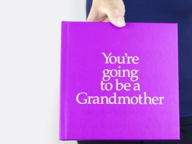 You're Going to be a Grandmother 12 page gift book with special gifts inside