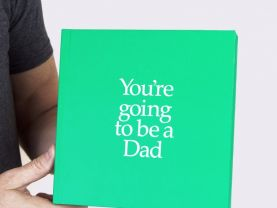 You're Going to be a Dad 12 Page Gift book with special gifts inside