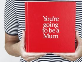 You're Going to be a Mum 12 page gift book with special gifts inside