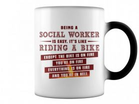 being a social worker is like riding a bike mug color change