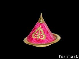 moroccan nice pink tajine for decor copper vintage art new morocco home decor