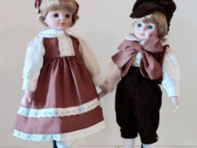 Marian Yu Porcelain Dolls  Set of Twins!!