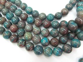 wholesale 6-20mm 16inch Rainbow Calsilica Gemstone Round Ball polished Loose Beads Calsilisa Jasper Beads