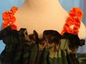 Camouflage Strap Dress