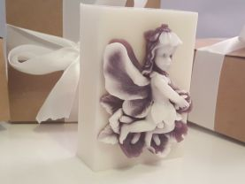 Fairy soap bar - gifts for teens - gifts for woman - Stocking stuffer for her - gift for teachers - lavender fairy soap - valentines for her
