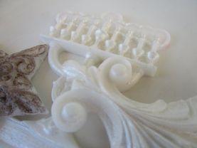 Menorah gift set - Hanukkah Soap Set - white Hanukkah Star gift set