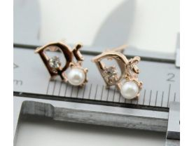 wholesale 5 pairs earring tiny 1.0mm