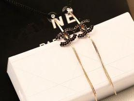 wholesale 3 pairs earring black