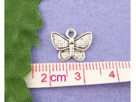 10 Butterfly Charms for Jewelry Making
