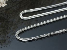 304 Stainless Steel Foxtail Chain  Necklace