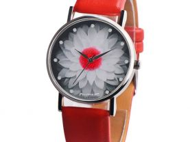 Watches Ladies Watch Pattern Casual Chic Leather Quartz 1006