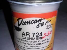 Duncan EZ Flow Ceramic Glaze Cashmere AR 724