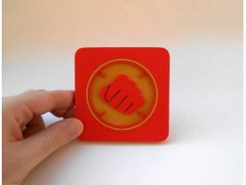 Handmade Heavy, Team Fortress 2 coaster