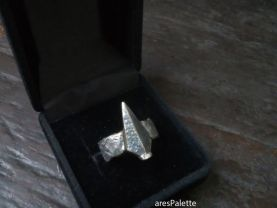 Special Design Spearhead Ring Handmade Sterling Silver
