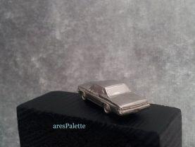 Chevrolet Impala 1966 Keychain-Fully Handmade-925 Silver