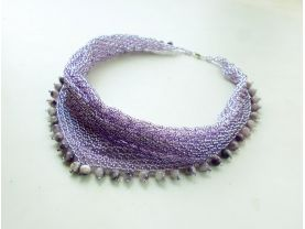 """necklace """"blooming lilacs"""""""