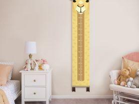 Growth chart camel, Camel decor child,Height chart, safari print, nurery wall decor, gift for baby