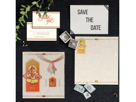 Traditional Ganesha Wedding Cards