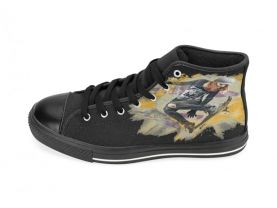 Skateboard Skater-girl Ladies Aquila High Top Canvas Shoes Many Sizes