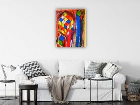 Abstract Painting acrylic