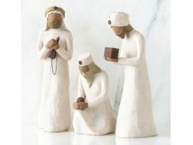 Willow Tree Three Wisemen_sculpted hand-painted nativity figures_26027