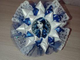 Handmade hair bow with elastic band