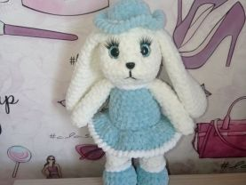 Handmade plush toy-bunny