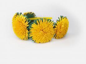 Handmade dandelion hair hoop hair band