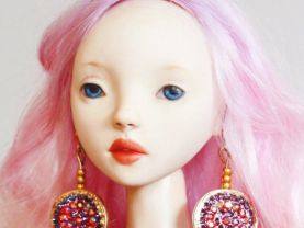 OOAK BJD Porcelain Doll Princess/ Artist Made Doll