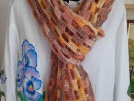 Scarf womanish stocking delicate