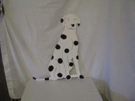 Dalmatian 4 Metal Dog Wall Art Silhouette Large